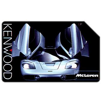 Phonecard for sale: Kenwood - McLaren, 31.12.95, L.5000