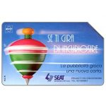 The Phonecard Shop: SEAT Se ti gira di incuriosire, Technicard, 31.12.95, L.5000