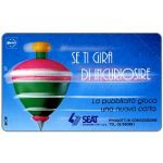 The Phonecard Shop: Italy, SEAT Se ti gira di incuriosire, 30.06.96, L.5000