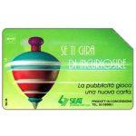 The Phonecard Shop: Italy, SEAT Se ti gira di incuriosire, 31.12.95, L.10000