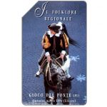 Phonecard for sale: Folklore Regionale, Gioco del Ponte, 31.12.95, L.10000