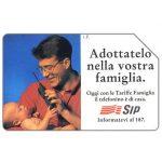 The Phonecard Shop: Italy, Adottatelo nella vostra famiglia, 31.12.95, L.5000