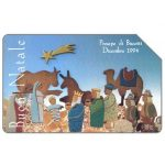 The Phonecard Shop: Presepe di biscotti, Christmas 92, 30.06.96, L.5000