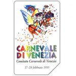 The Phonecard Shop: Italy, Carnevale di Venezia, 30.06.96, L.5000