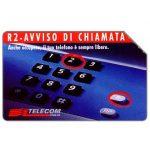 The Phonecard Shop: Italy, R2 - Avviso di chiamata, 31.12.96, Mantegazza, L.5000