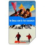The Phonecard Shop: Italy, In linea con le tue vacanze, 31.12.96, L.15000