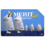The Phonecard Shop: Merit Cup, 31.12.96, L.5000