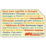 The Phonecard Shop: Italy, Storia di vita quotidiana, 31.12.96, L.10000