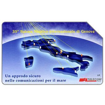 The Phonecard Shop: Italy, 35° Salone Nautico Internazionale di Genova, 30.06.97, L.5000