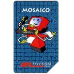 The Phonecard Shop: Italy, Mosaico, 30.06.97, L.5000