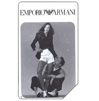 The Phonecard Shop: Emporio Armani, 31.12.97, L.10000