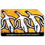 The Phonecard Shop: Italy, AIDS, 30.06.98, L.10000