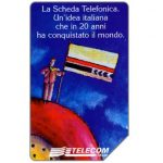 The Phonecard Shop: Italy, Ventennale scheda telefonica, 31.12.98, L.5000