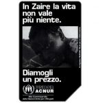 The Phonecard Shop: Italy, Zaire, 31.12.98, L.5000