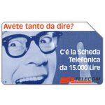 The Phonecard Shop: Italy, Avete tanto da dire?, 30.06.99, L.5000