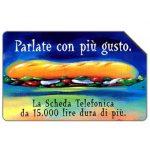The Phonecard Shop: Italy, Parlate con più gusto, 30.06.99, L.10000
