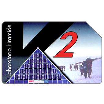 The Phonecard Shop: Everest-K2-CNR, 30.06.99, L.5000