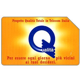 The Phonecard Shop: Italy, Progetto Qualità Totale, 30.06.99, L.10000