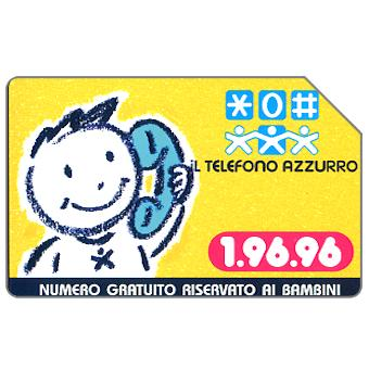 Phonecard for sale: Telefono Azzurro, 31.12.99, L.5000