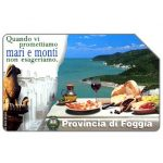 The Phonecard Shop: Provincia di Foggia, 31.12.99, L.5000