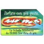 The Phonecard Shop: Italy, Parlate con più gusto, 31.12.99, L.5000