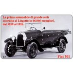 The Phonecard Shop: SalonBit, Fiat 501, 31.12.99, L.5000