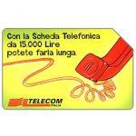 The Phonecard Shop: Italy, Non perdete il filo, 30.06.2000, L.5000