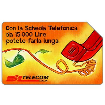 Phonecard for sale: Non parlate sulle spine, 30.06.2000, L.15000