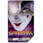 The Phonecard Shop: Italy, Carnevale di Venezia 1998, 30.06.2000, L.10000