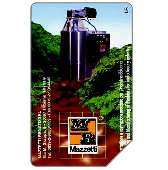 Phonecard for sale: Mazzetti, 30.06.2000, L.5000