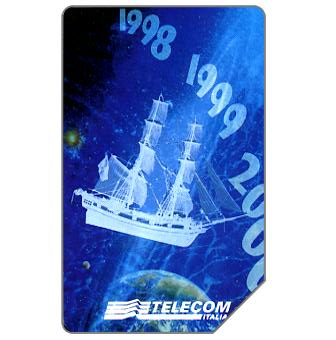 Phonecard for sale: Genova verso il 2000, 30.06.2000, L.5000