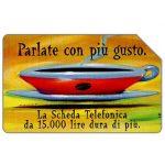 The Phonecard Shop: Italy, Parlate con più gusto, 30.06.2000, L.10000