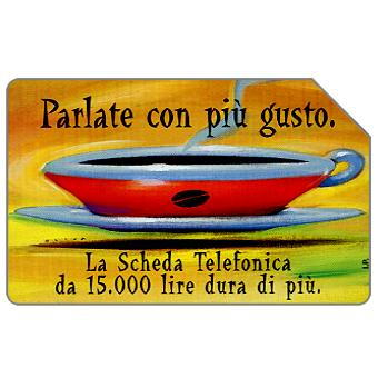 Phonecard for sale: Parlate con più gusto, 30.06.2000, L.10000