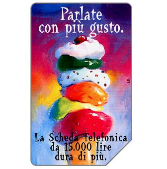 Phonecard for sale: Parlate con più gusto, 30.06.2000, L.15000