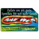 The Phonecard Shop: Italy, Parlate con più gusto, Alto Adige, 30.06.2000, L.5000