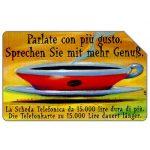 The Phonecard Shop: Italy, Parlate con più gusto, Alto Adige, 30.06.2000, L.10000
