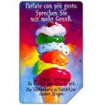 The Phonecard Shop: Italy, Parlate con più gusto, Alto Adige, 30.06.2000, L.15000