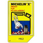 The Phonecard Shop: Italy, Michelin - Bibendum 1961, 30.06.2000, L.5000