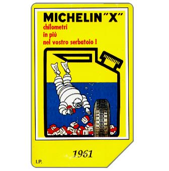 Phonecard for sale: Michelin - Bibendum 1961, 30.06.2000, L.5000