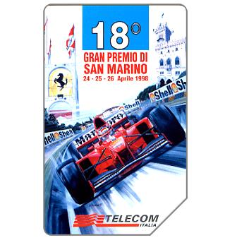 Phonecard for sale: Gran Premio di San Marino, 30.06.2000, L.10000