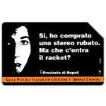 The Phonecard Shop: Italy, Campagna contro l'illegalità diffusa, 30.06.2000, L.10000