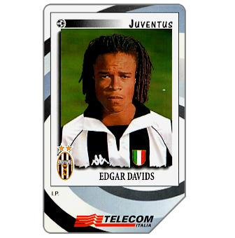 Phonecard for sale: Gli Introvabili Panini, Edgar Davids, 30.06.2000, L.10000