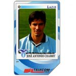 Phonecard for sale: Gli Introvabili Panini, José Antonio Chamot, 30.06.2000, L.5000