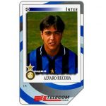 The Phonecard Shop: Italy, Gli Introvabili Panini, Alvaro Recoba, 30.06.2000, L.10000