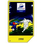 The Phonecard Shop: Italy, Michelin - Sponsor France 98, 30.06.2000, L.5000