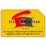The Phonecard Shop: Italy, Fissa il prefisso, 30.06.2000, L.5000
