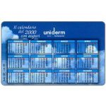 The Phonecard Shop: Uniderm, calendario 2000, 30.06.2000, L.5000