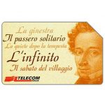The Phonecard Shop: Bicentenario di Giacomo Leopardi, 30.06.2000, L.10000