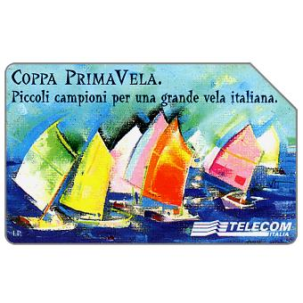 Phonecard for sale: Coppa Prima Vela, 31.12.2000, L.5000