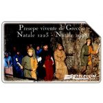 The Phonecard Shop: Presepe vivente di Greccio, 31.12.2000, L.10000